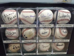 Past leaders - Randy only uses official Rawlings MLB balls